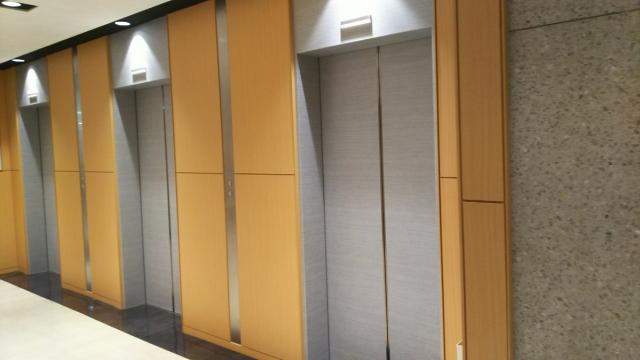 地震の時のエレベーター