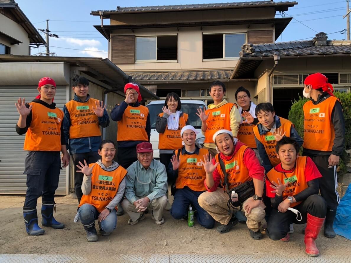 倉敷市真備町 災害ボランティア体験記【ボランティアに行く方は必見!】