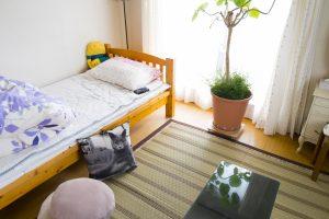 地震場所別対応ベッドルーム