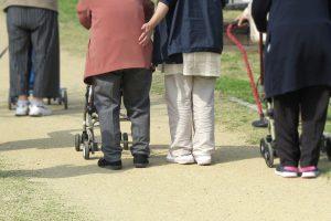 避難所要介護者や高齢者