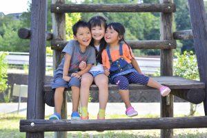 避難所の子どもの遊び場
