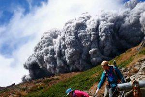 御嶽山 噴火の瞬間
