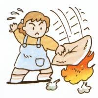 火事の初期消火の三原則早く消す