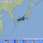 【地震速報】紀伊水道を震源とする最大震度4の地震が発生。この地震による津波の心配はありません。